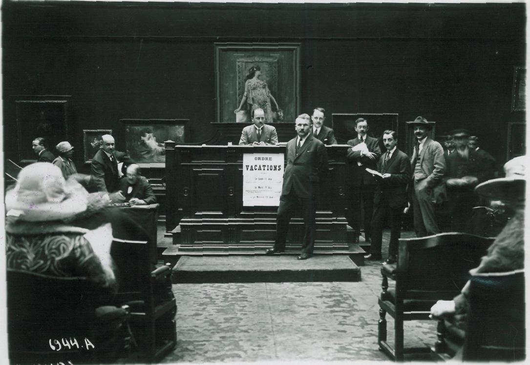 Galerie Georges Petit, vente de la succession Sarah Bernhardt, 11 et 13 juin 1923. DR