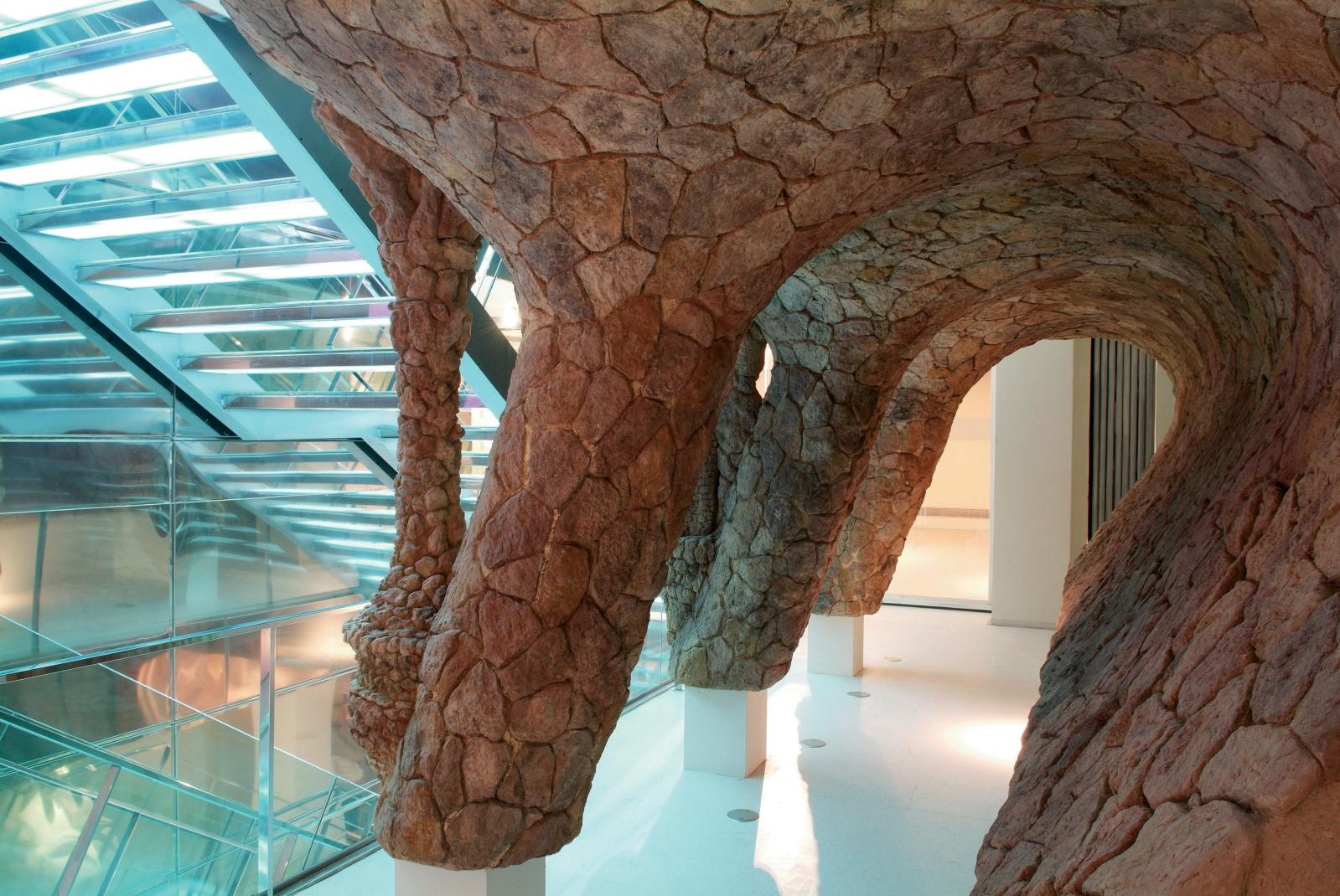 Maquette du parcGüell, au Centre Gaudí.
