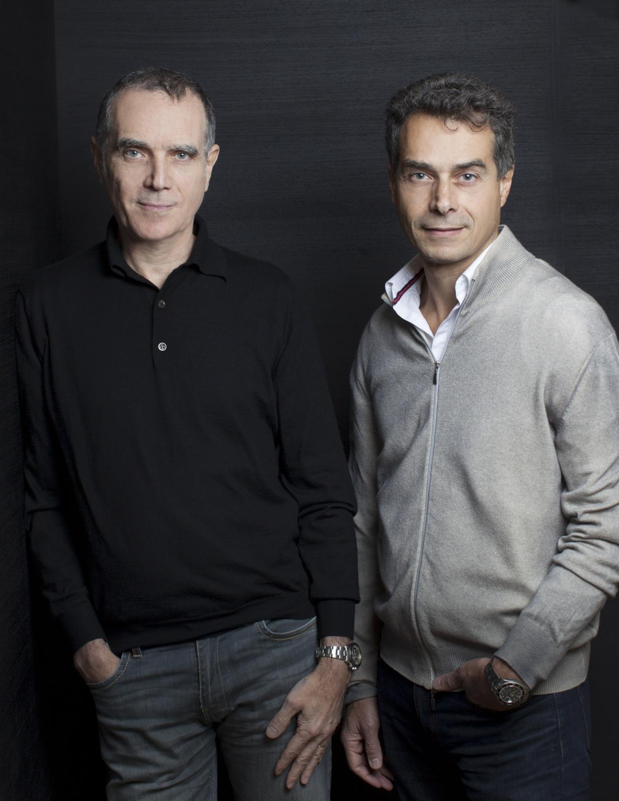 Daniel et Michel Bismut.