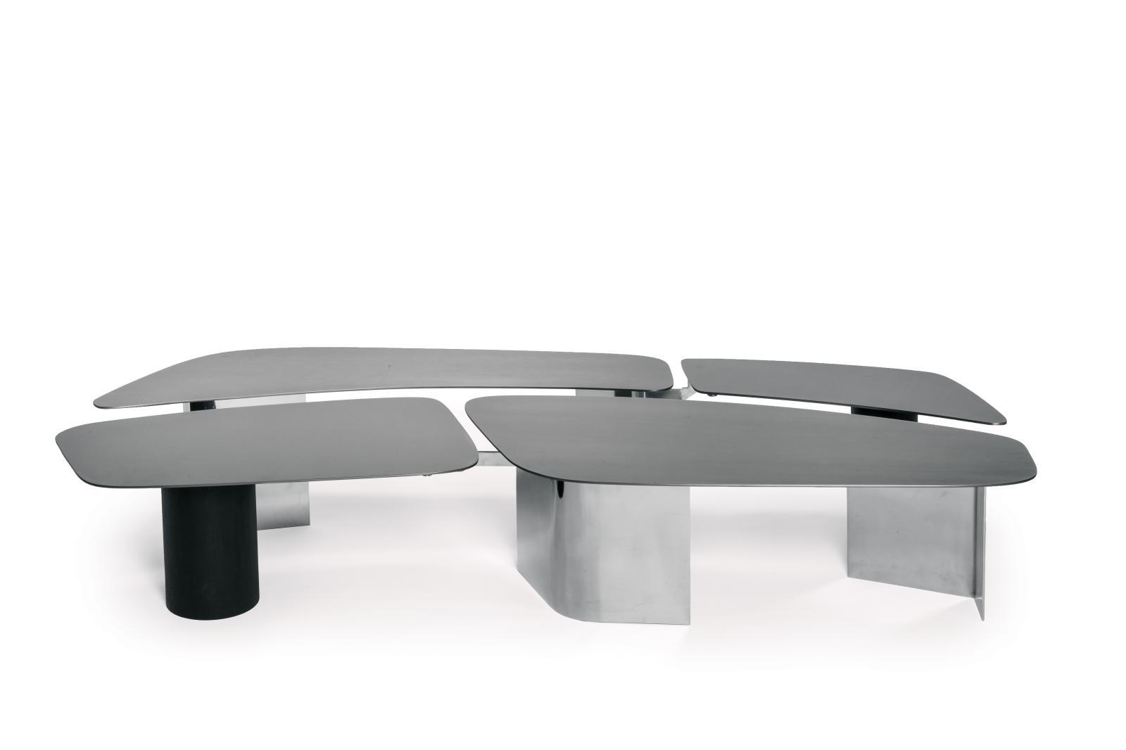 Bismut &Bismut, table basse Trays, Mobilier national.