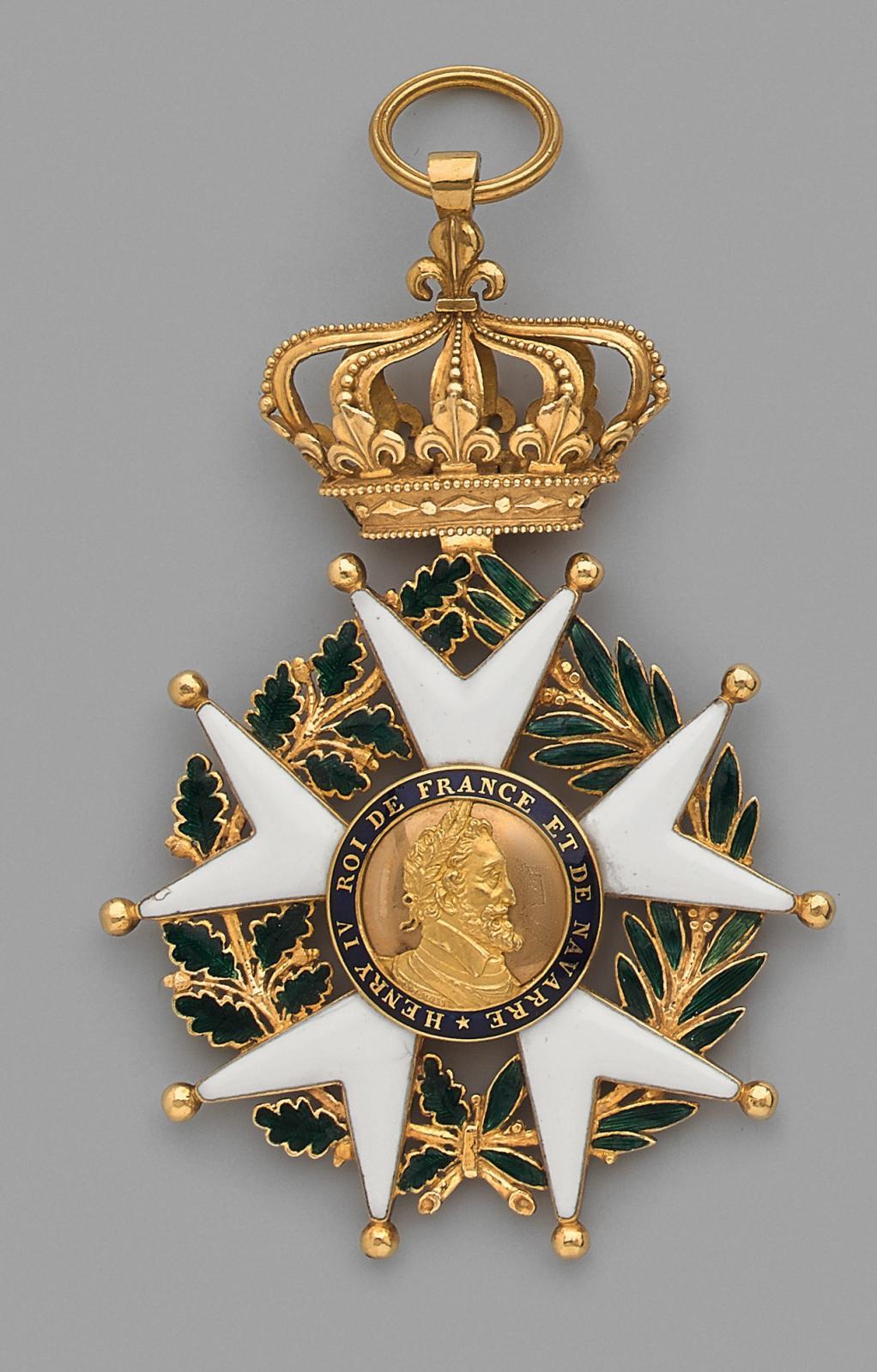 Deux préemptions du musée de la Légion d'honneur ont distingué cet ensemble. L'institution a acquis deux souvenirs du duc de Berry, fils du futur Char