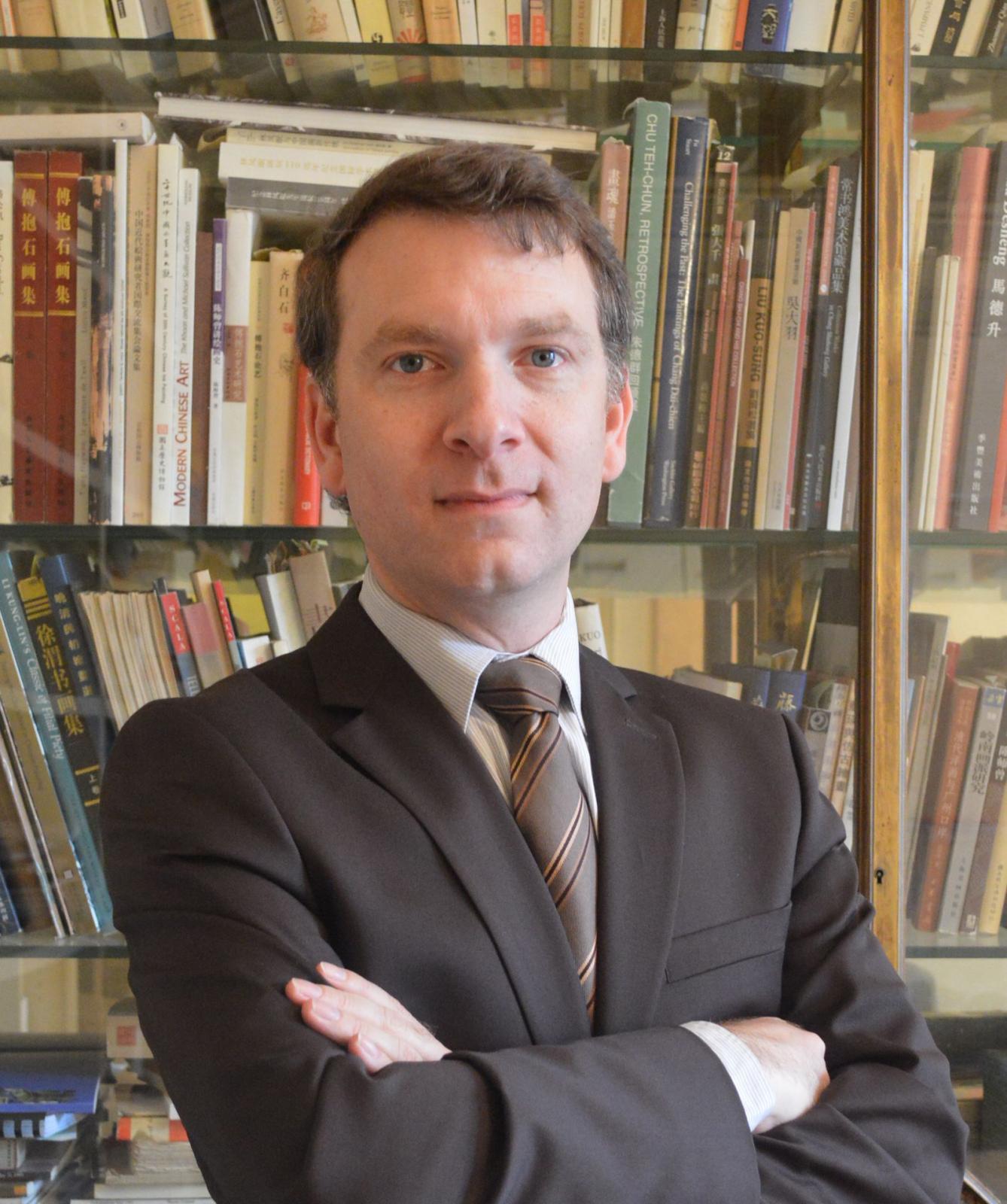 Éric Lefebvre, directeur du musée Cernuschi
