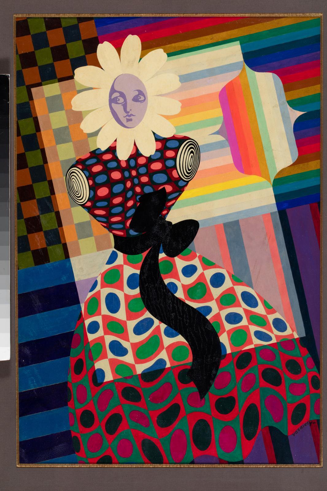 La Fille Fleur, 1932-45, huile sur carton, 55,5x37,57cm, collection privée, musée Vouland.