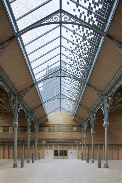 Le Carreau du Temple abritera le nouveau salon d'art contemporain. Galeristes.