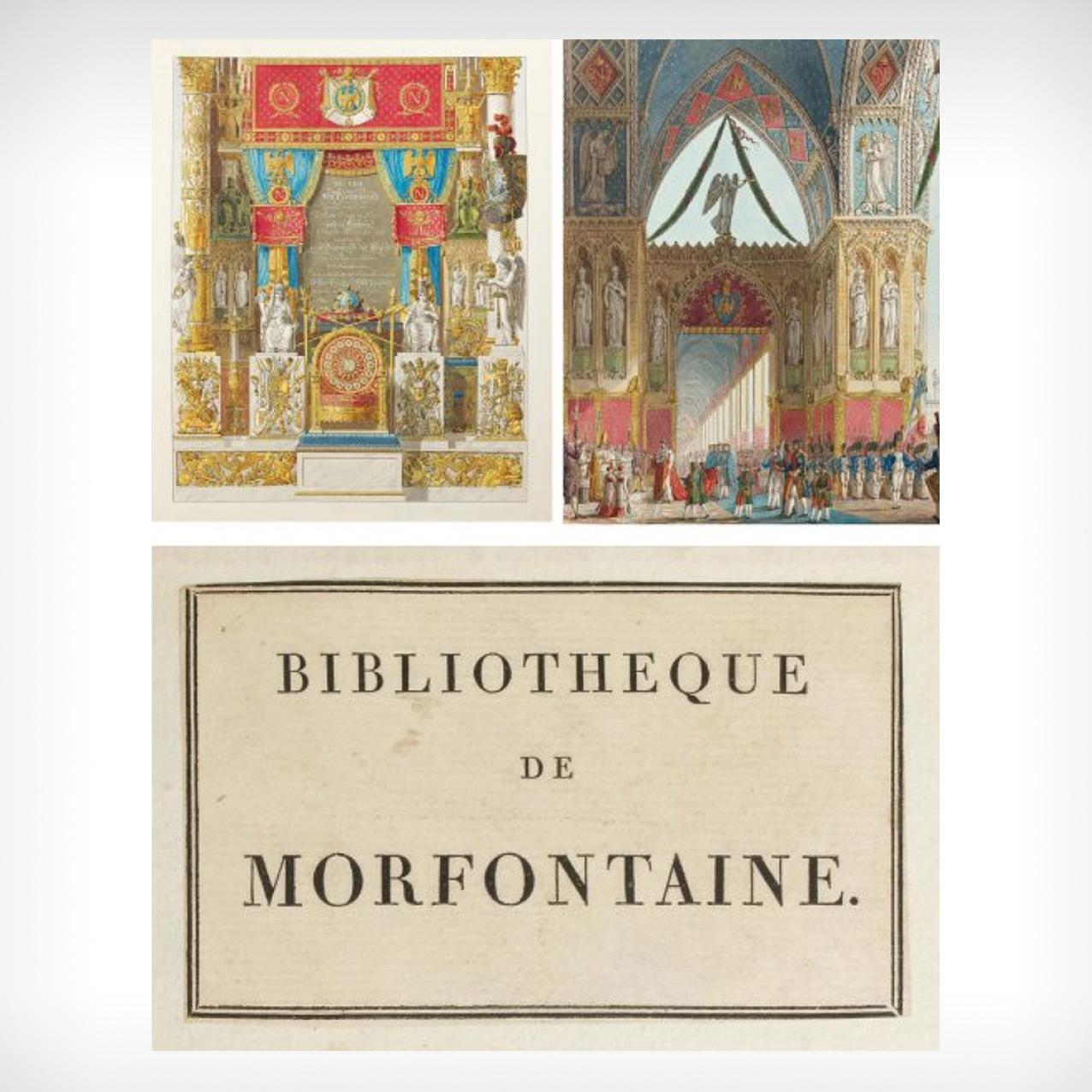 82000€ Ch. Percier et P.F.L. Fontaine, Description des cérémonies et des fêtes qui ont eu lieu pour le couronnement de leurs majestés Napoléon (…) e