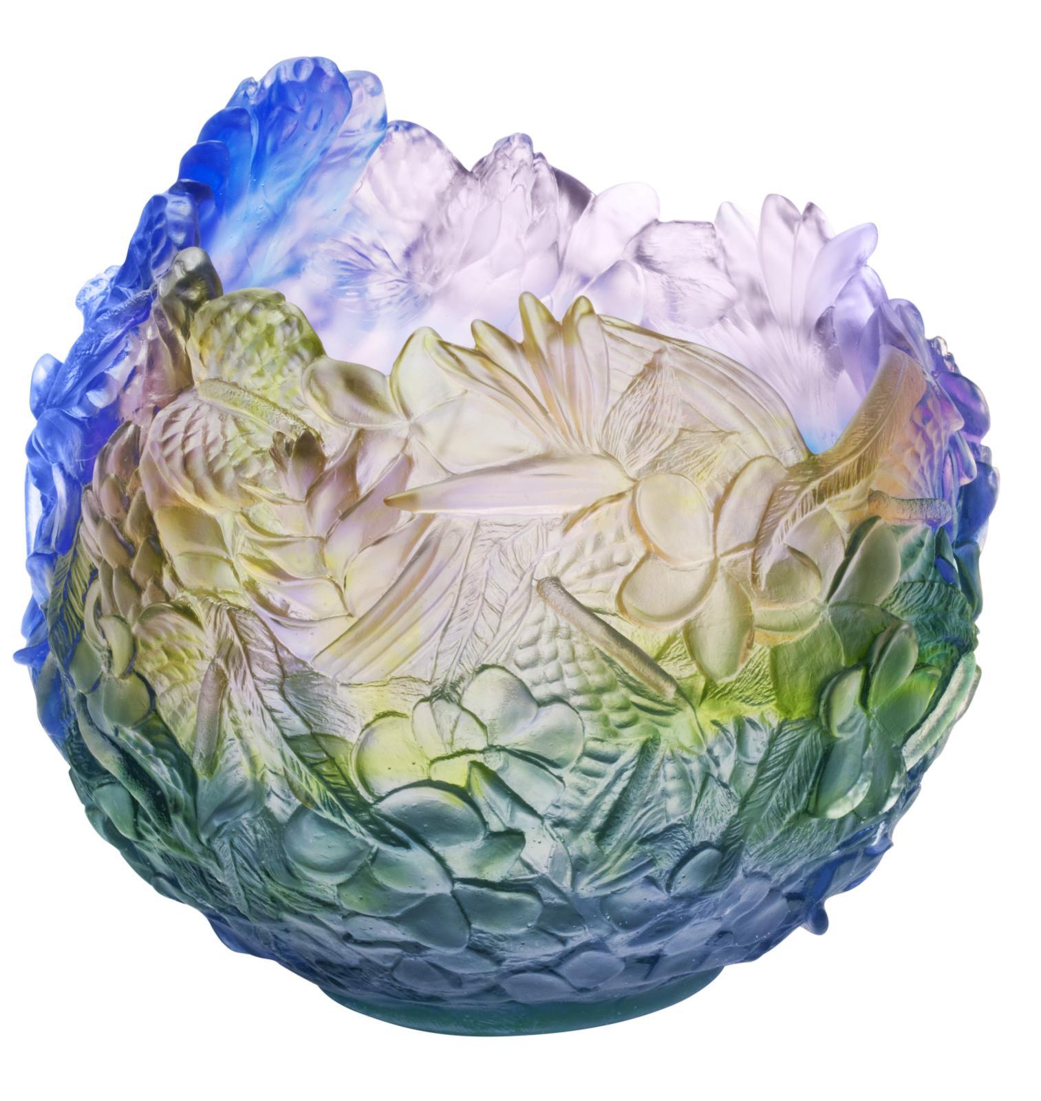 Daum, collection «Arc-en-ciel», vase Magnum.