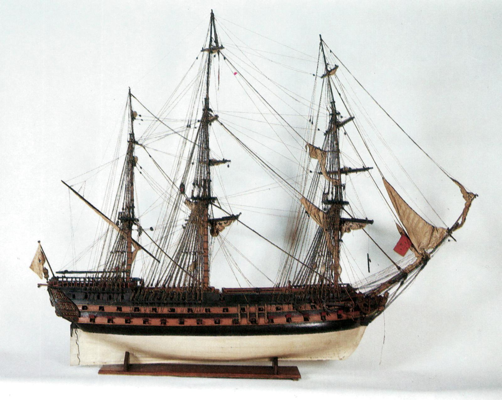 Maquette du Conquérant, travail français du début du XIXesiècle, 190x171cm. Cheverny, Orangerie du Château, 11juin1989. Rouillac OVV. Adjugé: 2