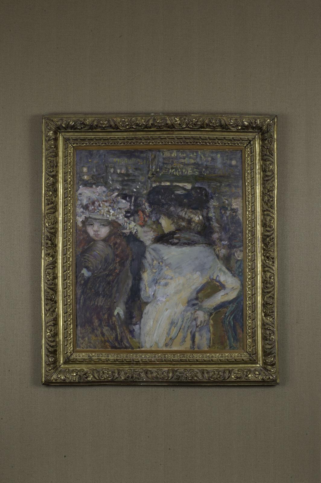 Pierre Bonnard, Deux élégantes place de Clichy, 1905.