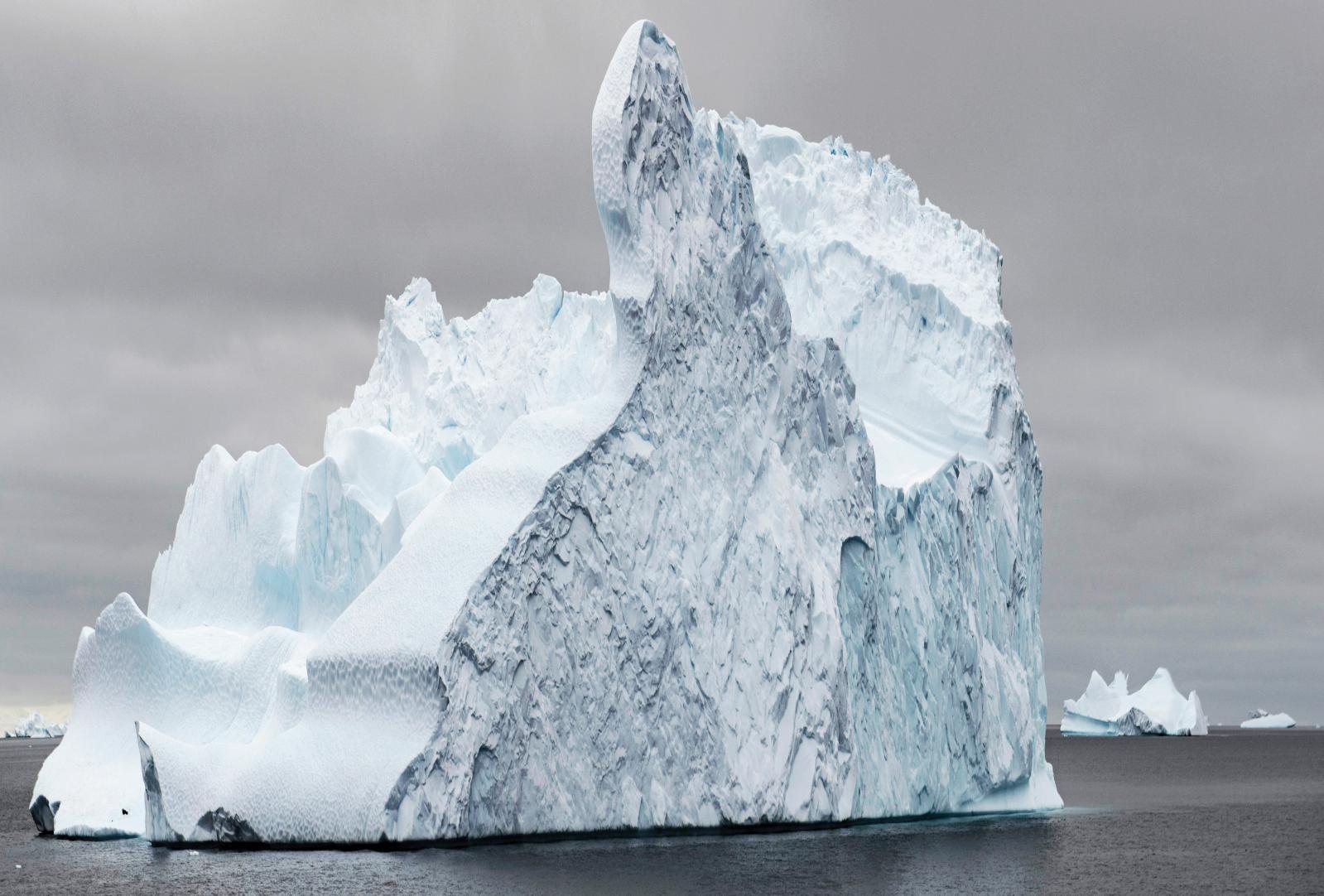 Philippe Chancel, Datazone #13, continent Antarctique, Charcot Point, 2017. Avec l'aimable autorisation de l'artiste et de Melanie Rio Fluency.
