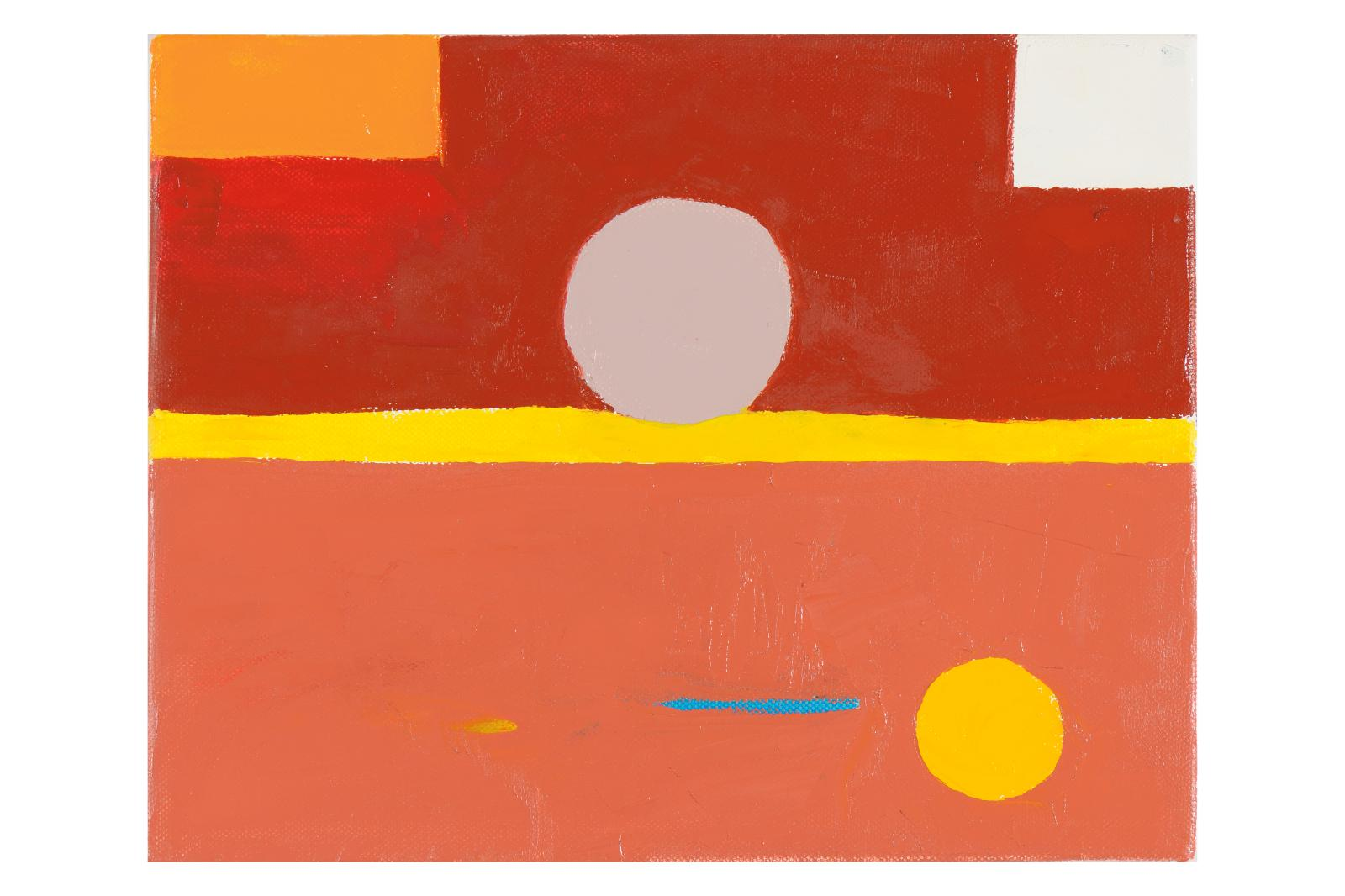 17 Etel Adnan, Untitled, 2010, collection Sfeir-Semler Gallery, Beyrouth/Hambourg.