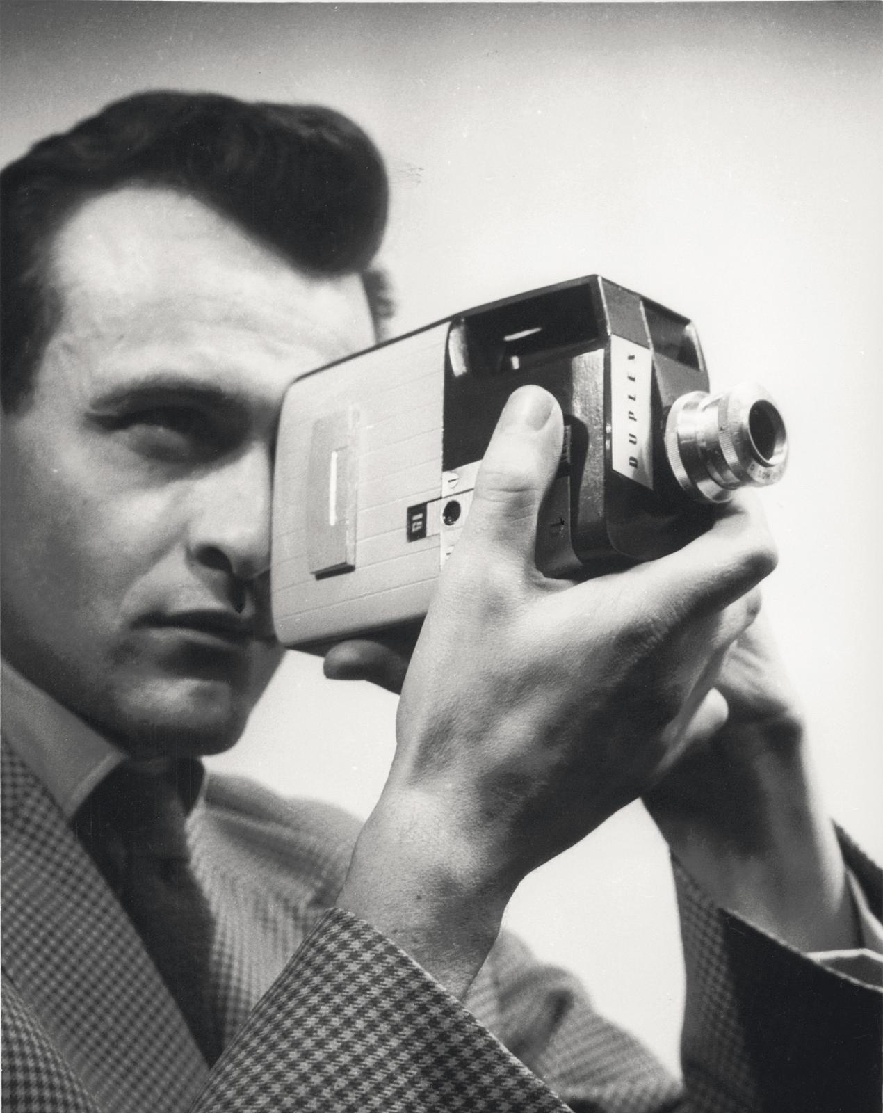 Caméra Duplex 9,5mm pour Pathé, 1954.