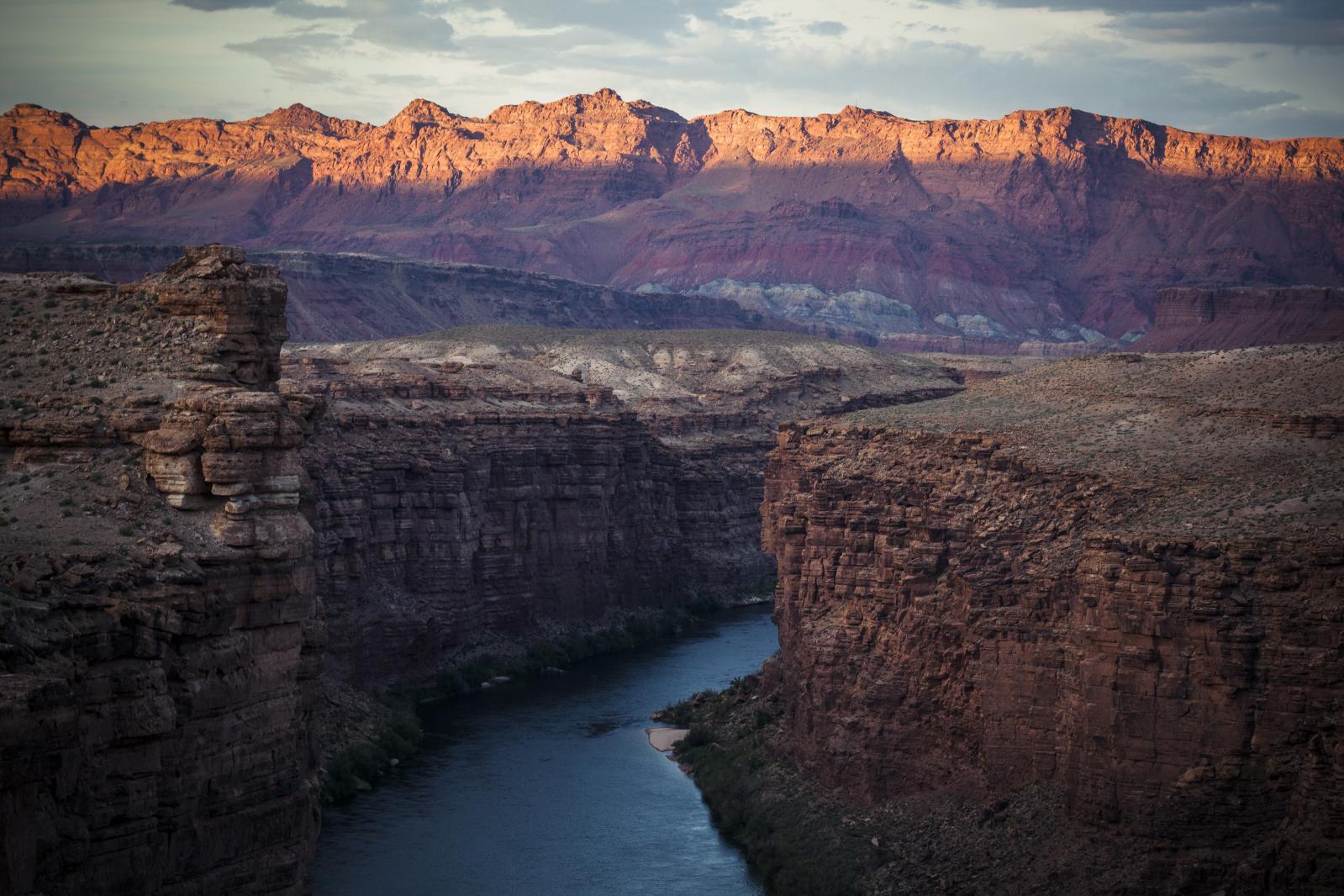 Franck Vogel (né en 1977), LeColorado, 2015, Marble Canyon, Arizona, États-Unis, 80x120cm.