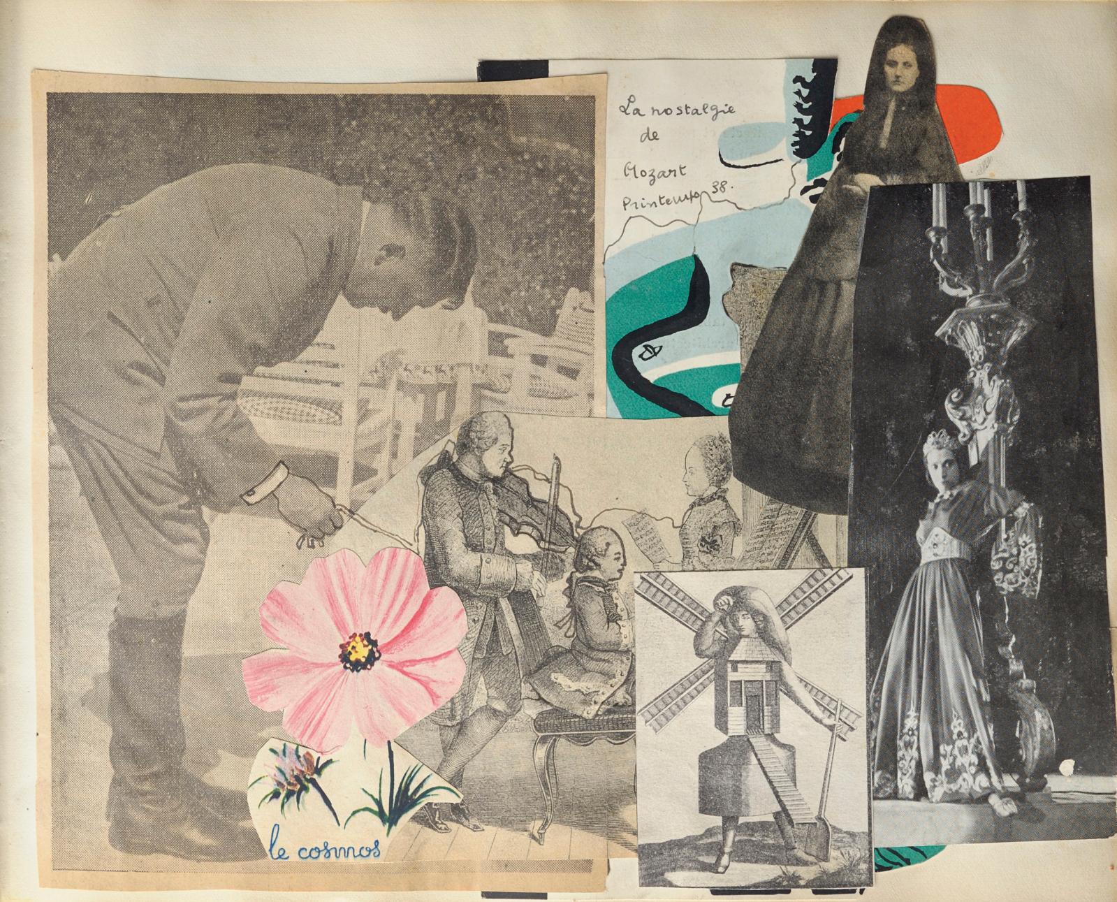 Georges Auric, Marie-Laure de Noailles et Luis Buñuel, Hyères, janvier 1930. Collection privée.
