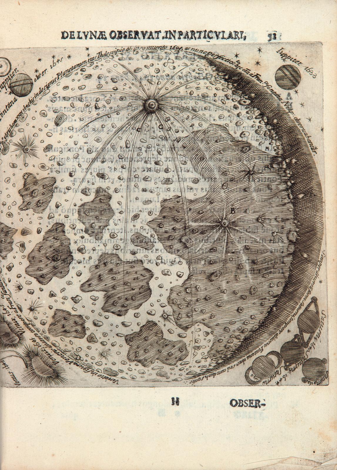 Francesco Fontana (vers 1580-1656), Novae coelestium terrestrium rerum observationes, Et fortasse hactenus non vulgatae, Naples, Gassarum, février 164