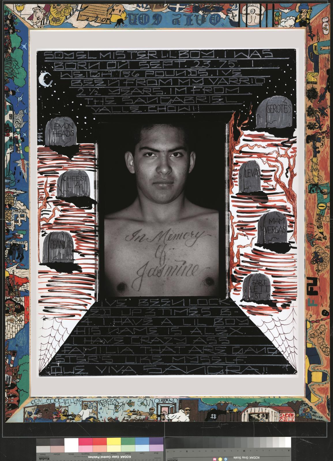 Denis O. Callwood, Jasmine (from the Gang Series), 1993-2007, c-print, 87,6x69,9cm.  Courtesy Collection agnès b.