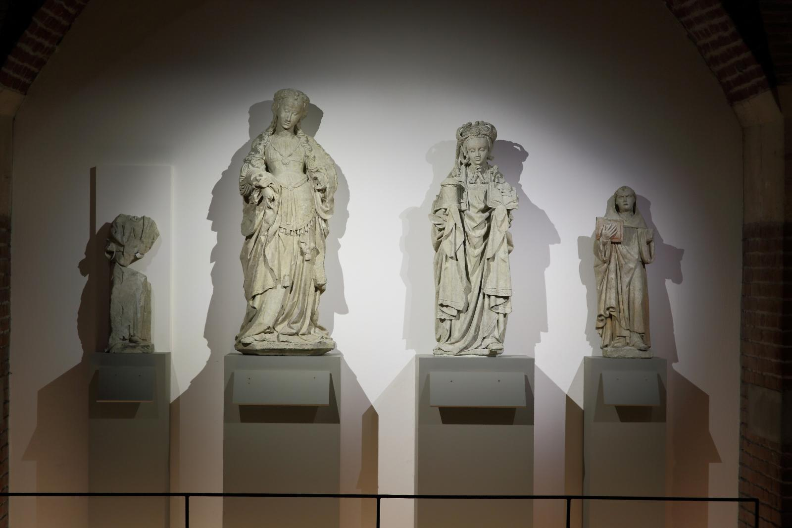 Les «belles du Nord», dans leur nouvel écrin du Palais des beaux-arts de Lille.