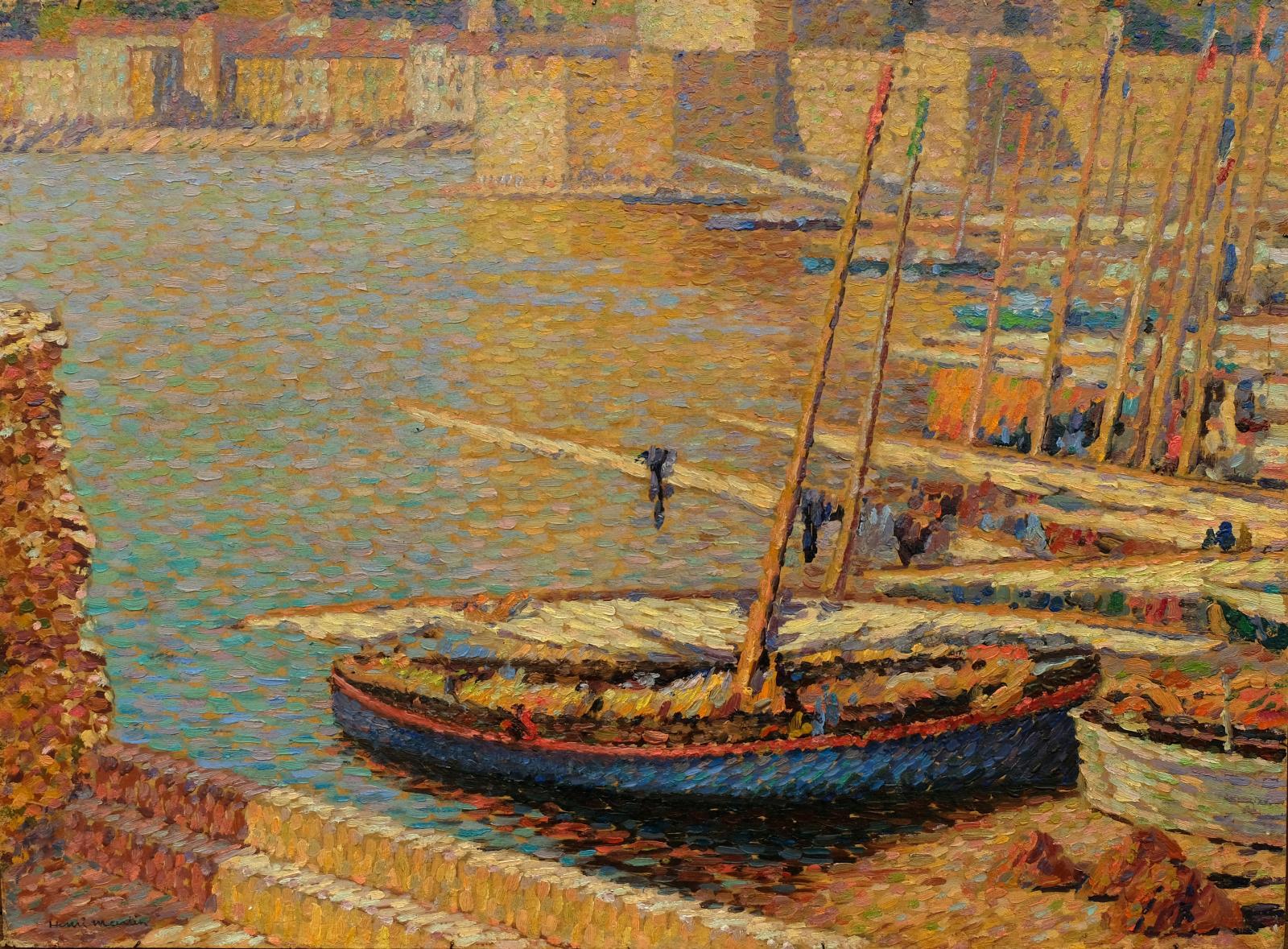 Henri Martin (1860-1943), Le Port de Collioure (The Port of Collioure), oil on card, 57 x 78 cm.Result: €131,760