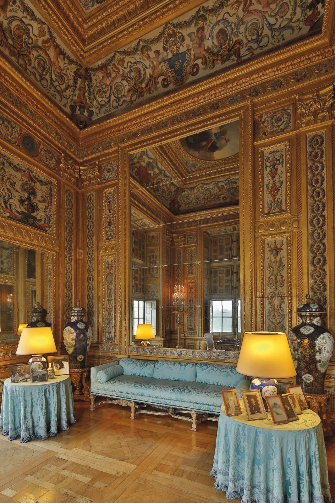 Cabinet des jeux de Nicolas Fouquet. Vaux-le-Vicomte.