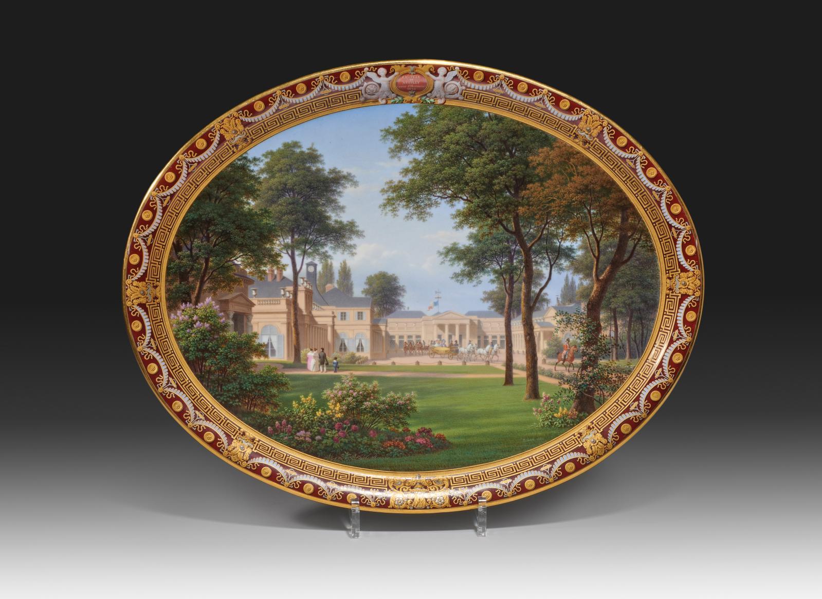 Vincennes, seau à verre «forme du Roy» en porcelaine tendre, à deux prises latérales en forme de rinceaux feuillagés, décor polychrome de bouquets de