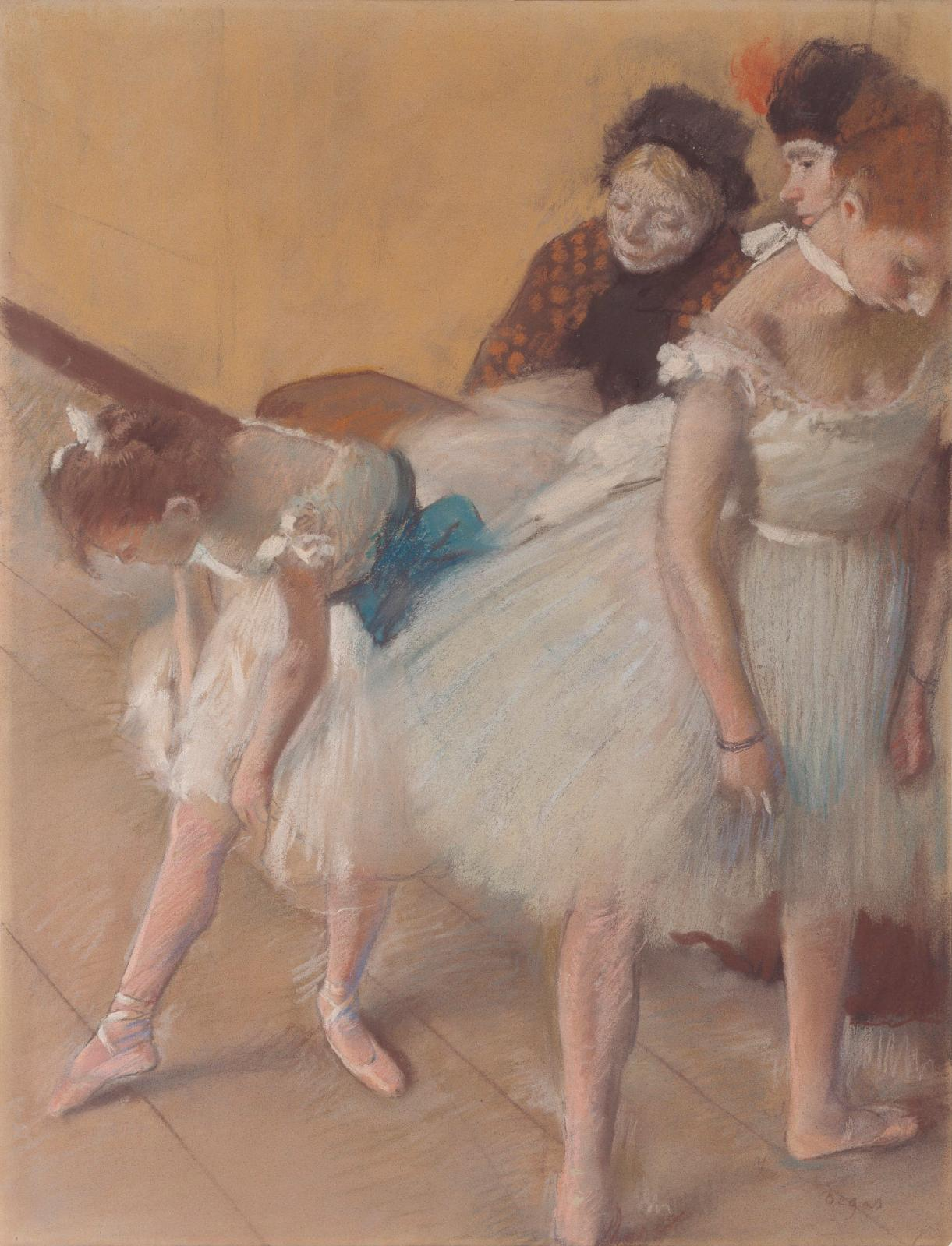 Examen de danse (The Dancing examination), 1880, pastel on paper, Denver, Denver Art Museum.© COURTESY DENVER ART MUSEUM