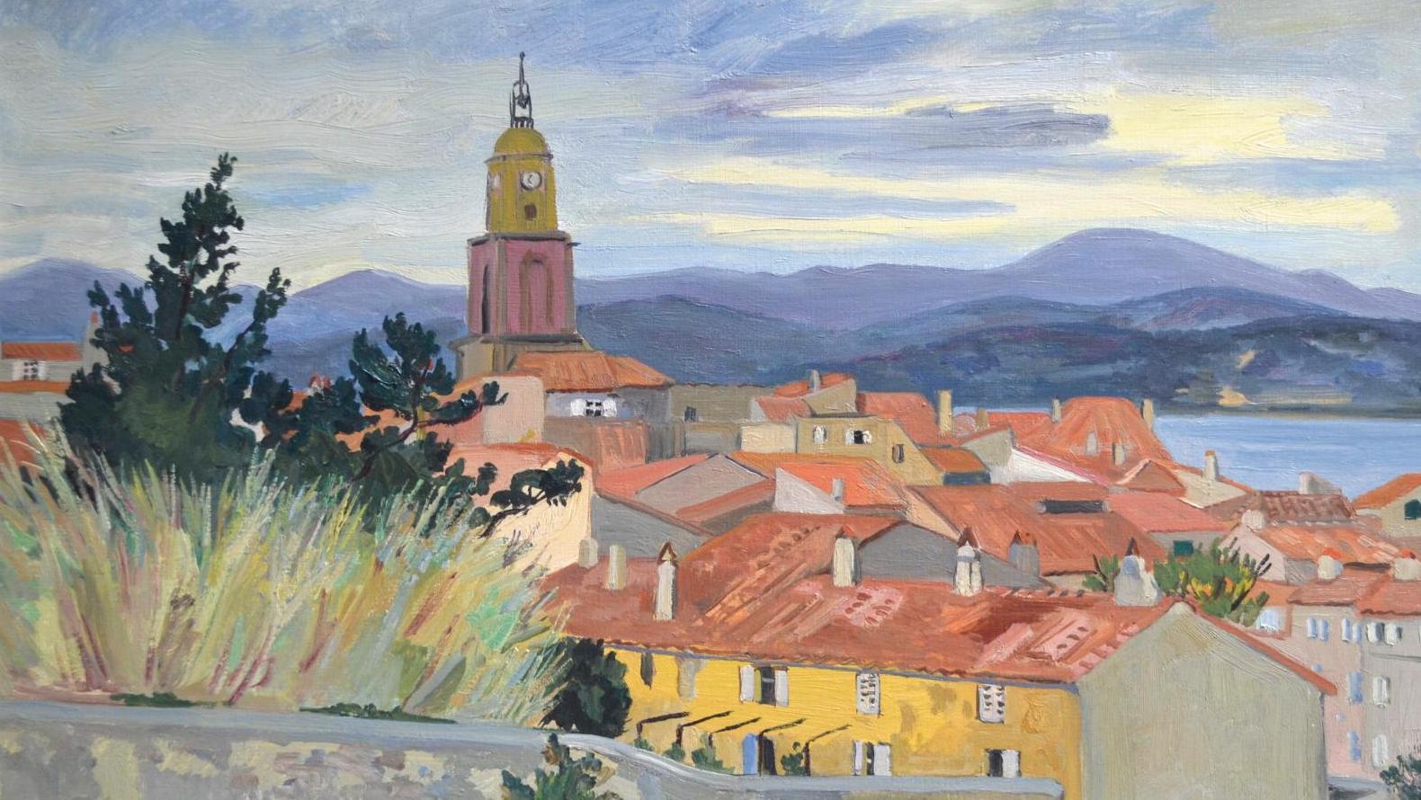Artiste Peintre St Tropez après-vente yves brayer et bernard buffet, deux peintres à