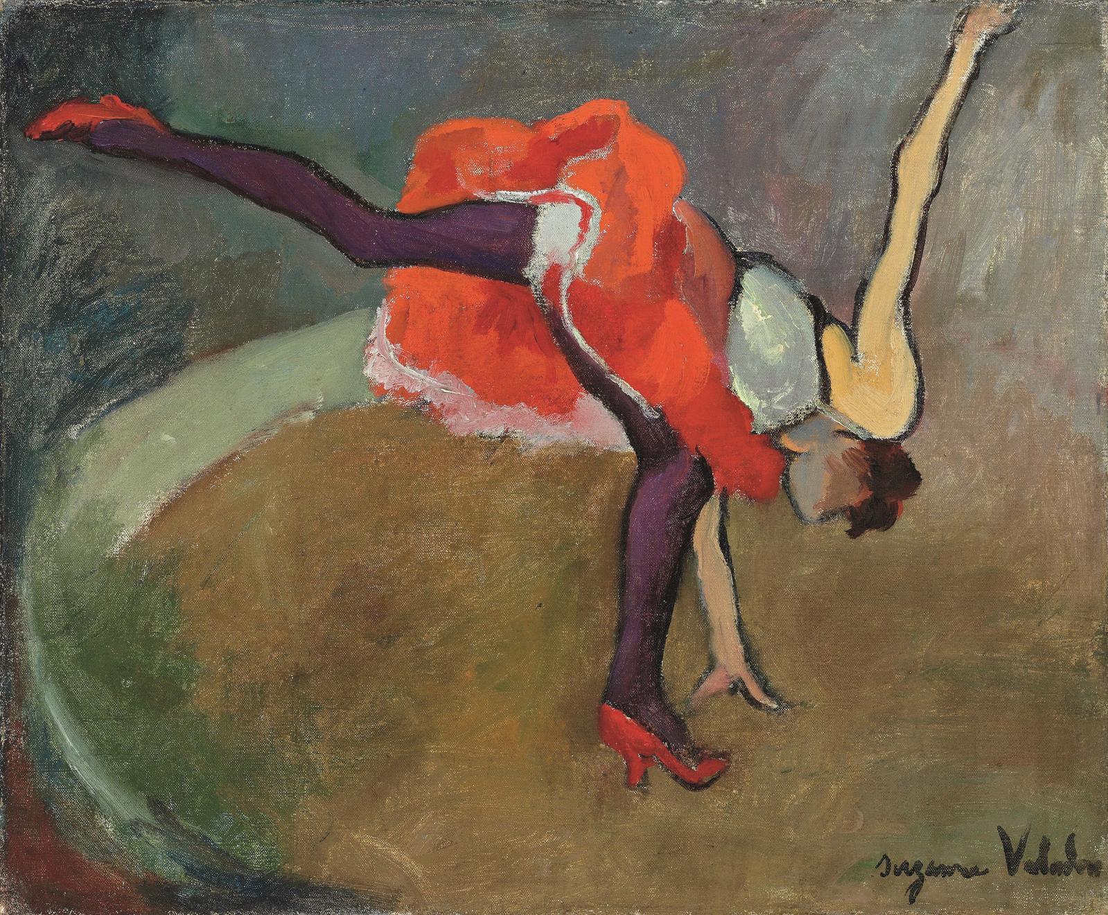 Suzanne Valadon (1865-1938), L'Acrobate ou la Roue, 1916, détail.