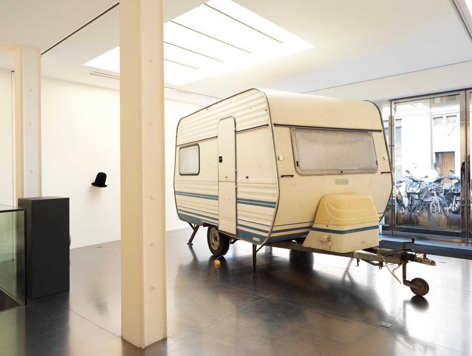 Vue de l'exposition «Sculptures, Werner Reiterer» à la galerie Loevenbruck (jusqu'au 2 novembre).