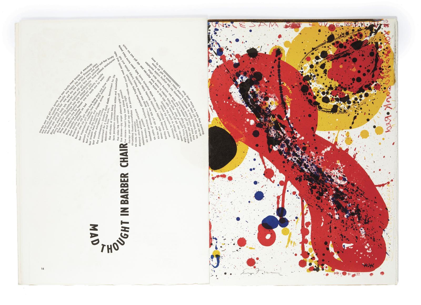 Ding Xiongquan,dit Walasse Ting(1929-2010), 1Life, Paris, [Maurice Beaudetpour les lithographies et Georges Girard pour la typographie