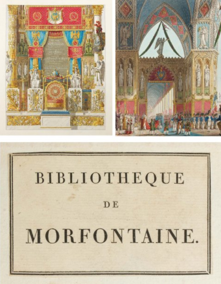 €82,000Charles Percier and P.F.L. Fontaine, Description of the ceremonies and festivities that took place for the coronation of their maje