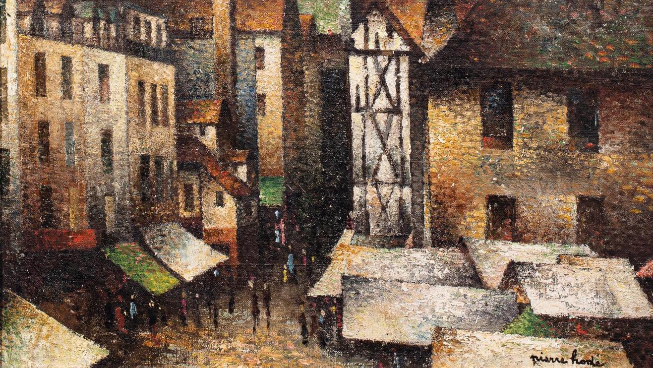 Peintres Ecole De Rouen avant-vente - hodé à l'école de rouen