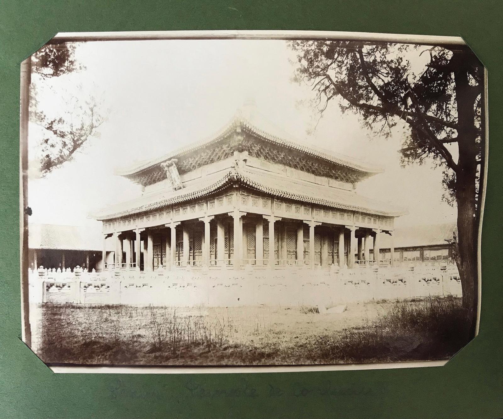 Robert de Semallé (1839-1946), ensemble de quatre-vingt-onze photographies prises entre1880 et 1884 à Pékin et autour de la capitale chin