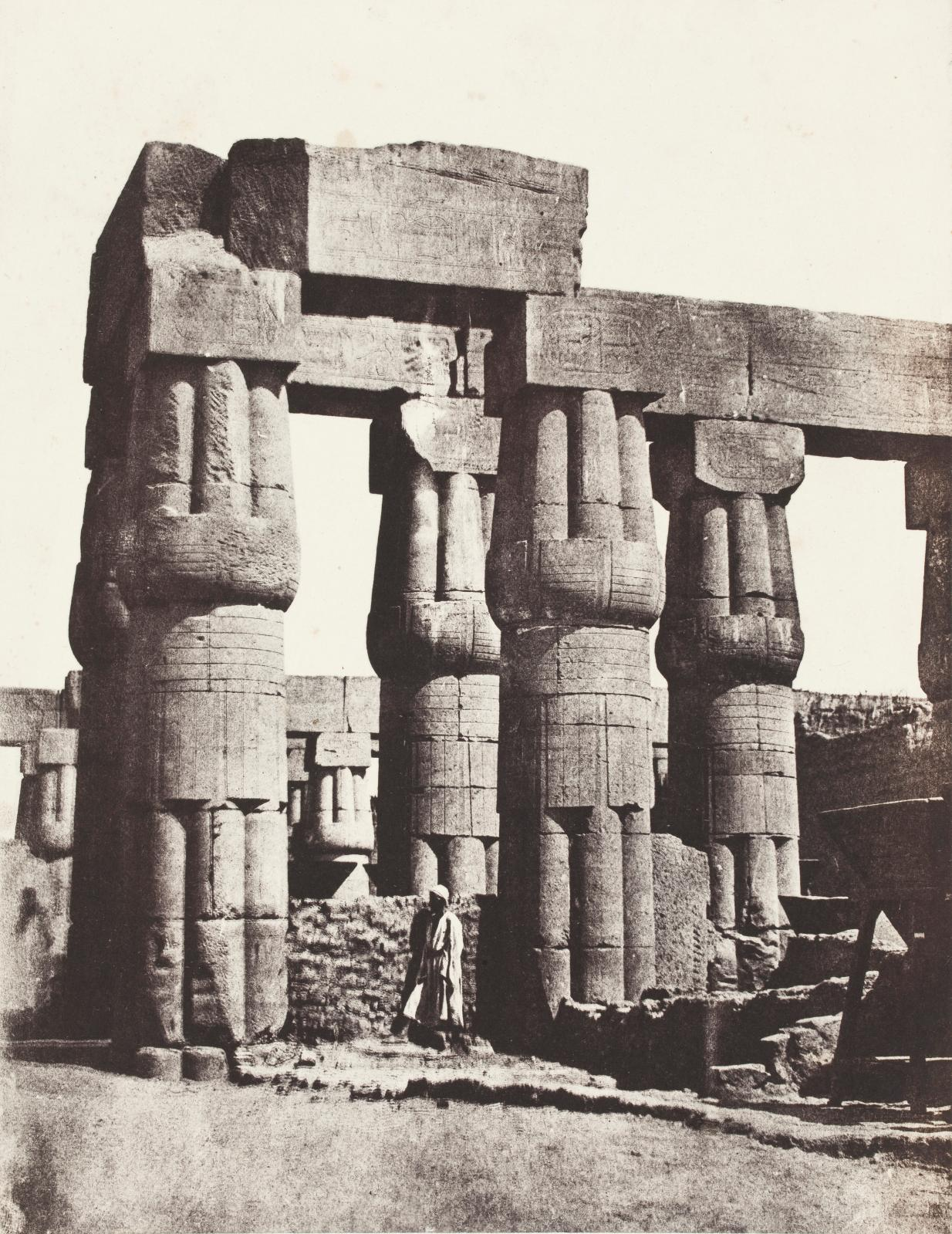 Robert de Semallé (1839-1946), ensemble de huit albums comprenant 1419photographies réalisées entre 1880 et 1883 (ici le temple de Confu