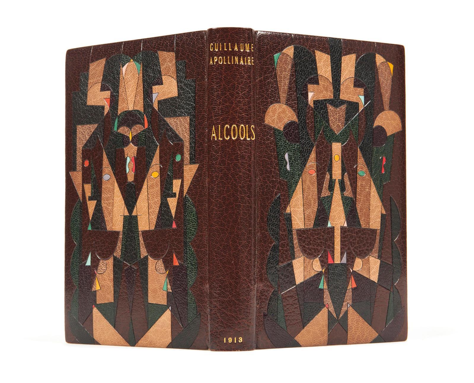 Guillaume Apollinaire (1880-1918), Alcools. Poèmes (1898-1913), édition originale, Paris,Mercure de France, 1913, in-12, reliure de Paul B