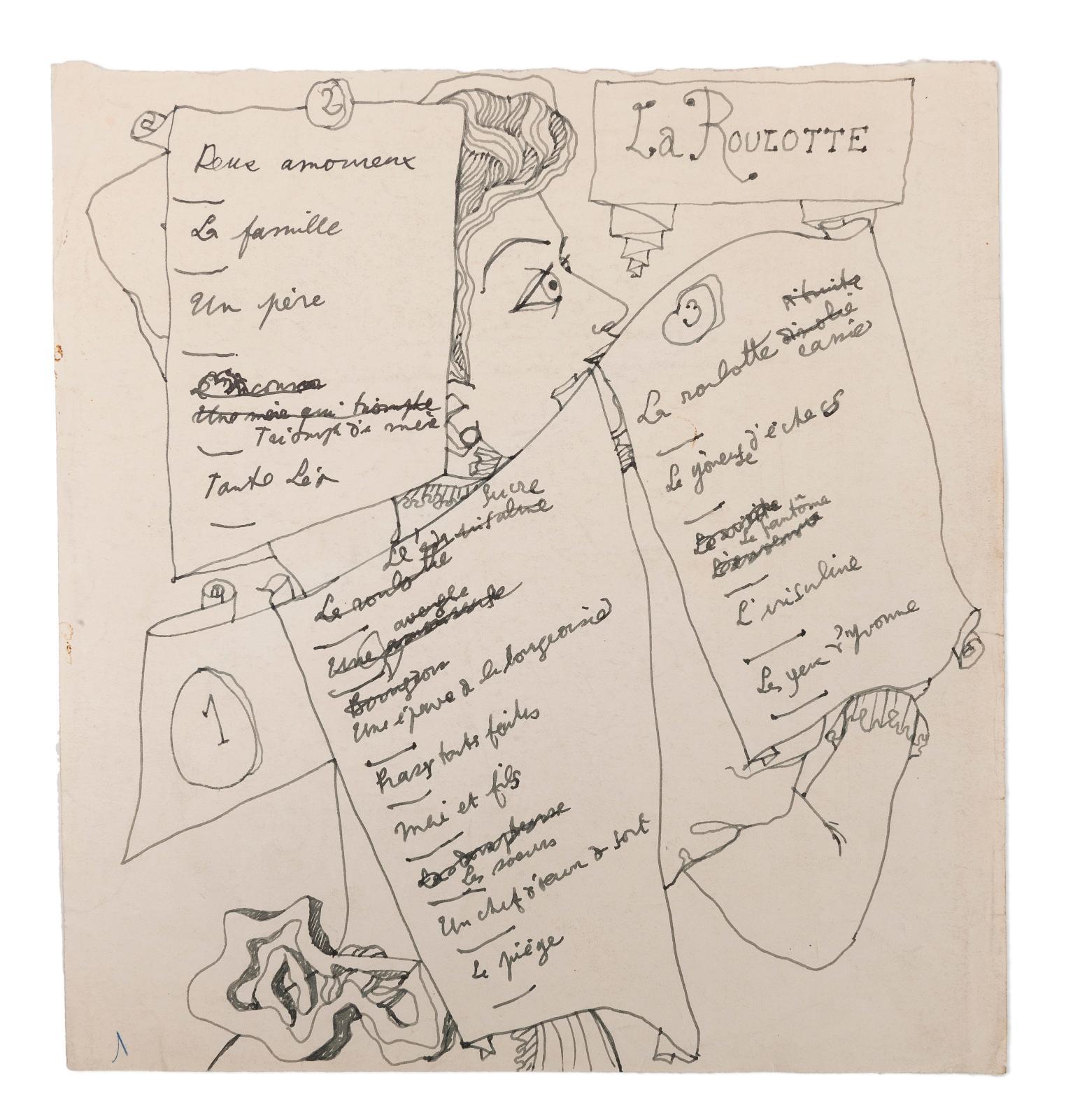 """Jean Cocteau (1889-1963), Les Parents terribles, complete autograph manuscript, """"Montargis, 6h du matin 22 février 1938"""", 242 pages, large"""