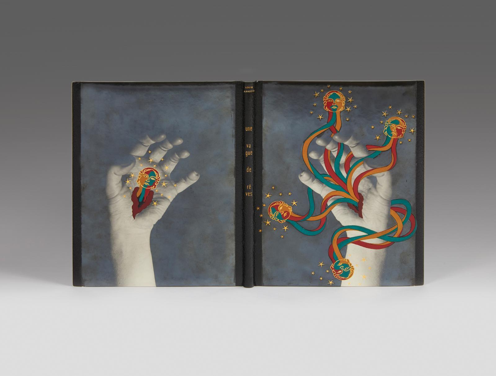 Louis Aragon(1897-1982), Une vague de rêves, 1924, exemplaire de l'édition originale du tiré à part de la revue Commerce, avec envoi auto