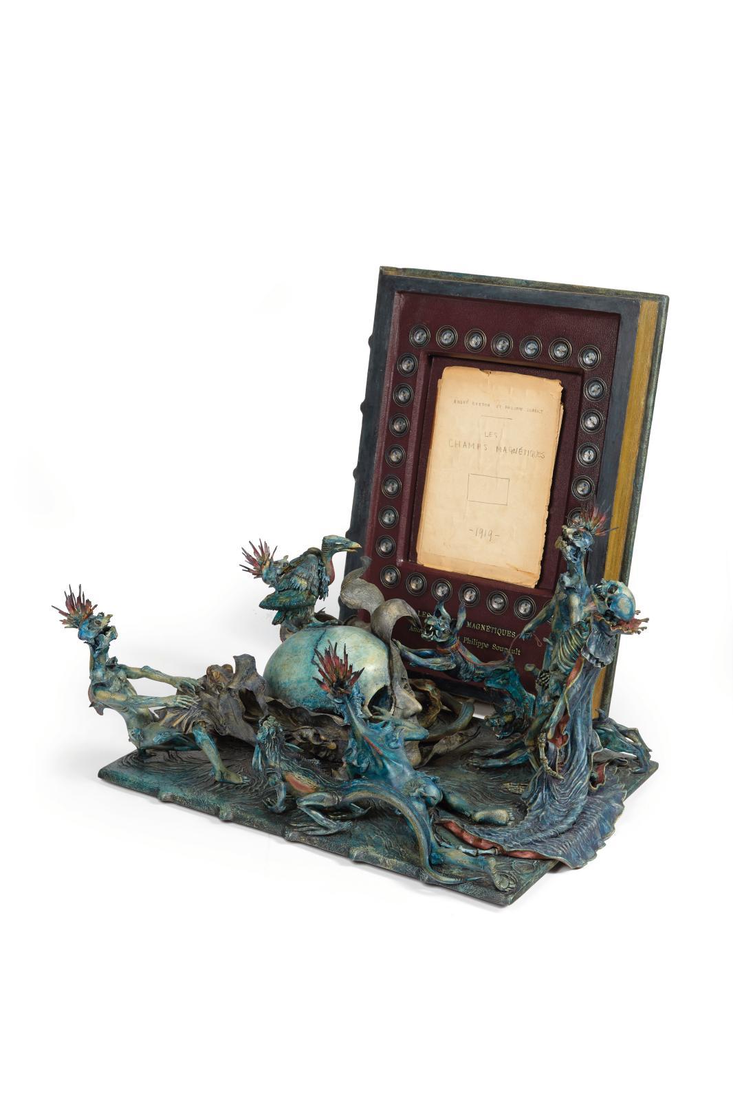 André Breton(1896-1966) et Philippe Soupault(1897-1990), Les Champs magnétiques, 1919, manuscrit autographe à deux mains, in-8o, composé
