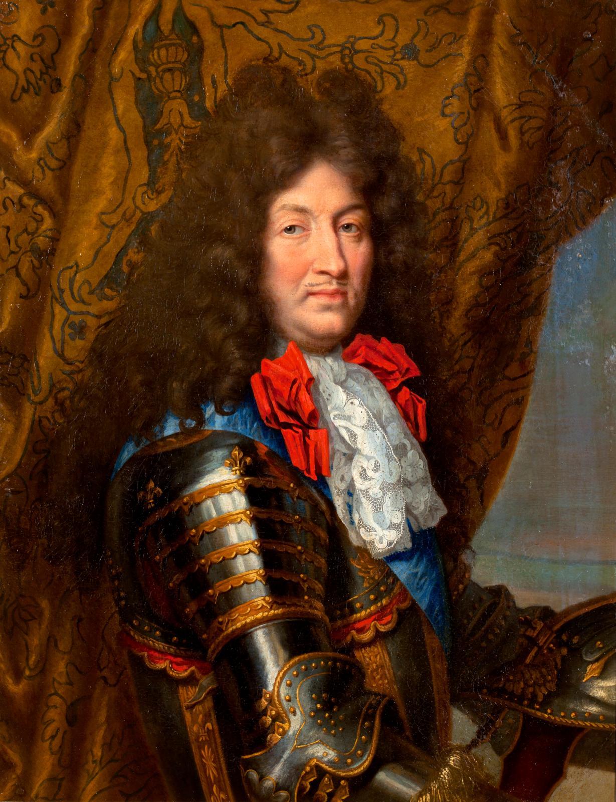 Le musée national des châteaux de Versailles et de Trianon s'enrichit d'une nouvelle image de son roi fondateur grâce à la préemption, pou