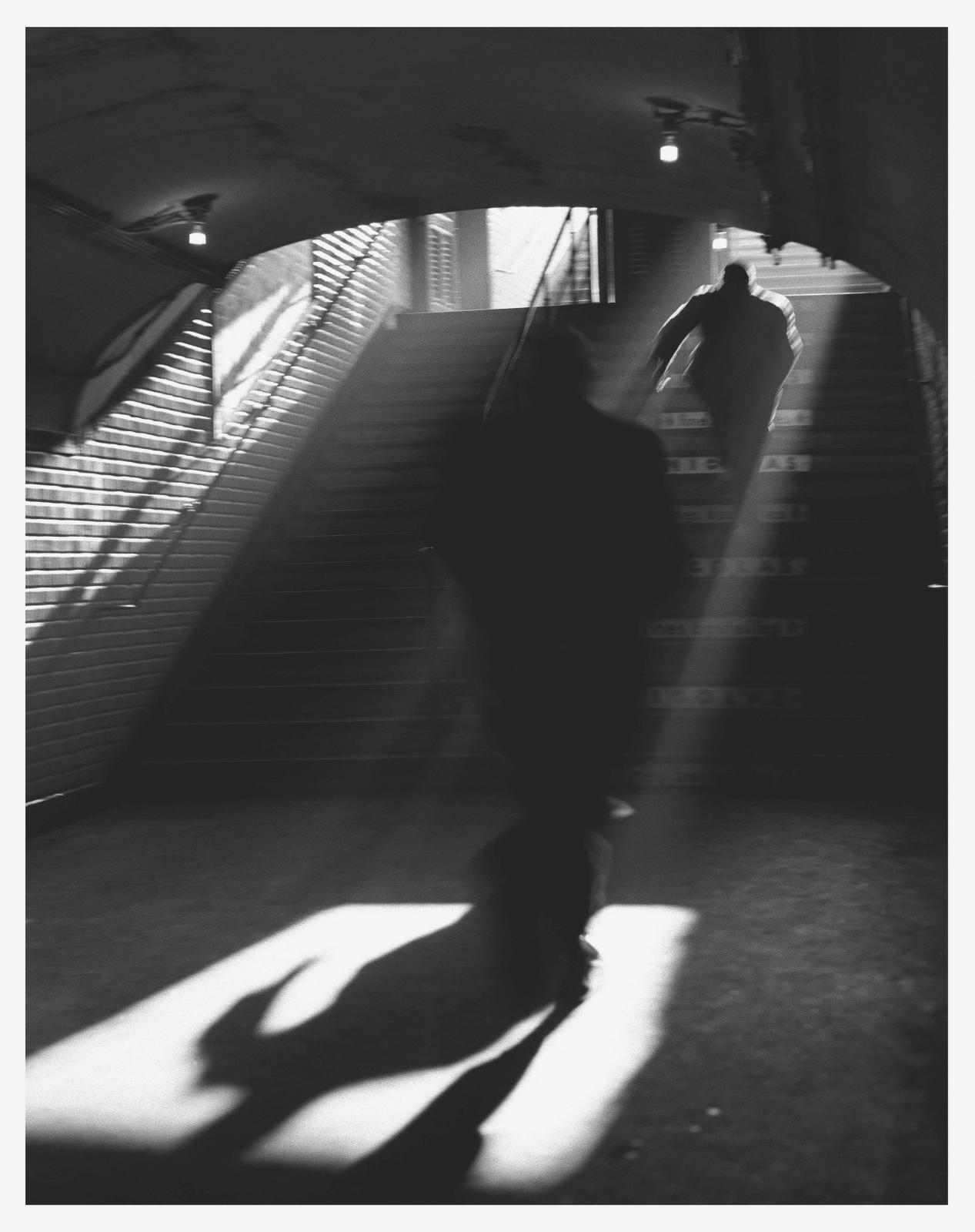 Sorte de métro, 1955.