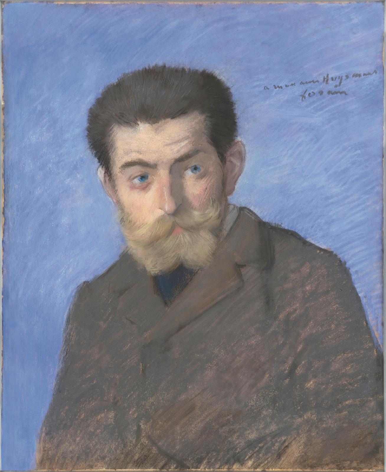 Jean-Louis Forain (1852-1931), Joris-Karl Huysmans, 1878, pastel, 55x44,5cm, Paris, musée d'Orsay.Photo © RMN-Grand Palais (musée d'Ors