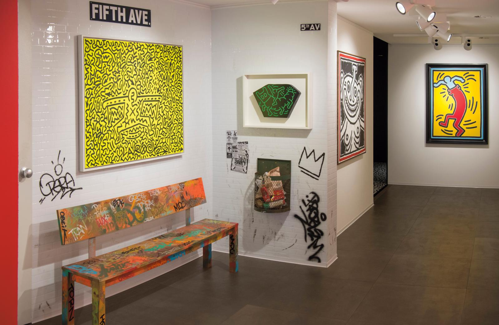 "The exhibition ""Keith Haring, The party of life"", organised in September 2019 by Opera Gallery Geneva.Courtesy Opera Gallery"