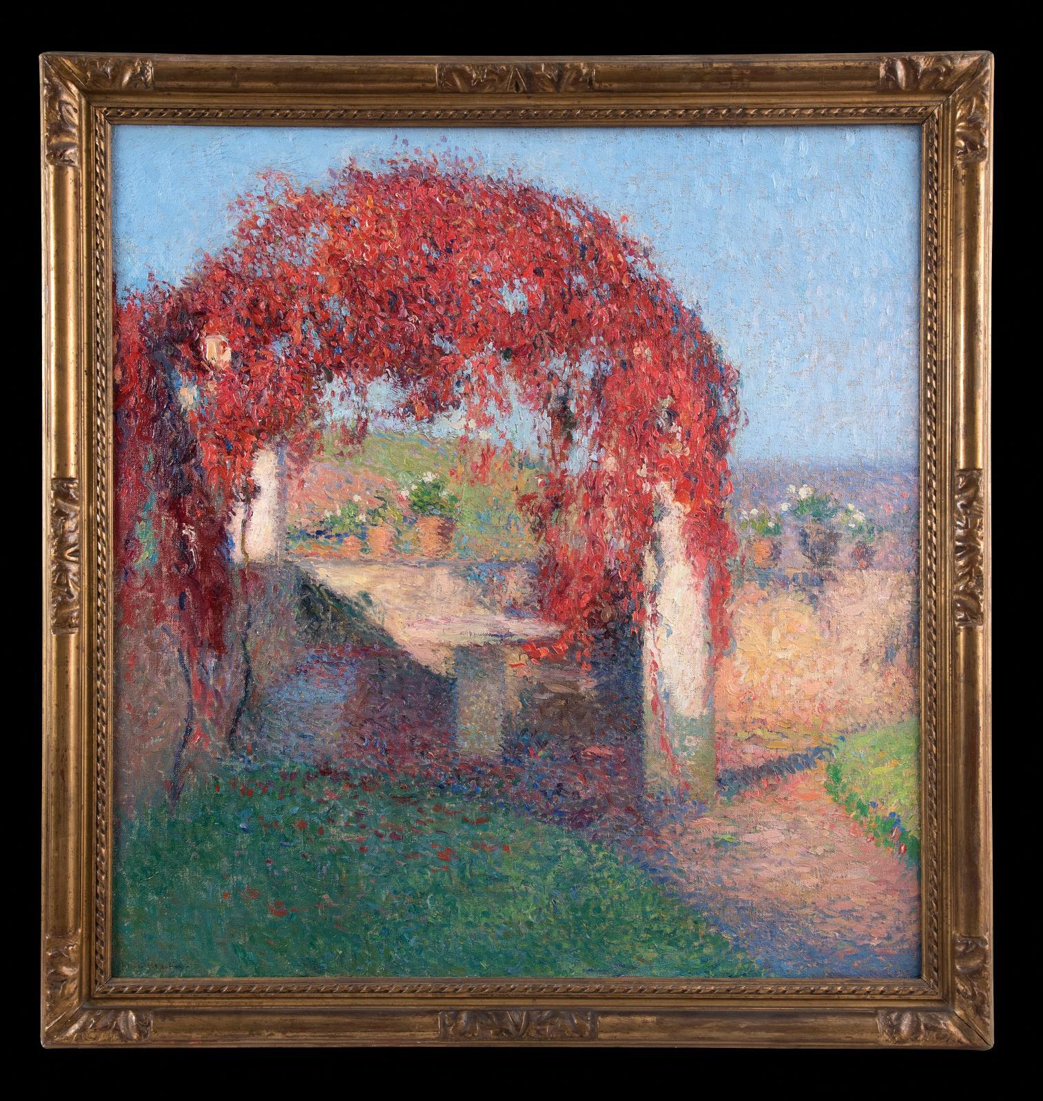 Henri Martin (1860-1943), La Pergola à l'automne, Marquayrol, vers 1910-1920, huile sur toile, 84x80,5cm. Adjugé: 170016€