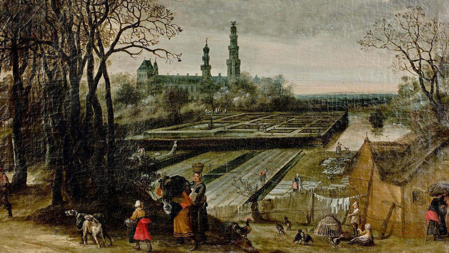 Les Trois Saisons D Un Peintre Flamand