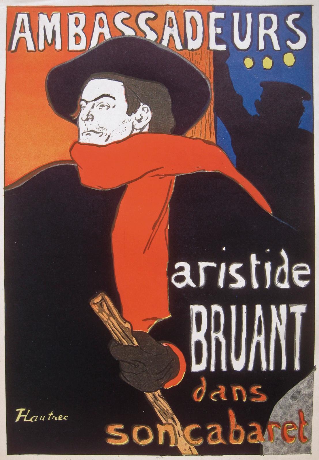 Les Chansonniers de Montmartre, douze revues brochées in-4°, du numéro1 (5 mars 1906) à la couverture illustrée par Henri de Toulouse-La