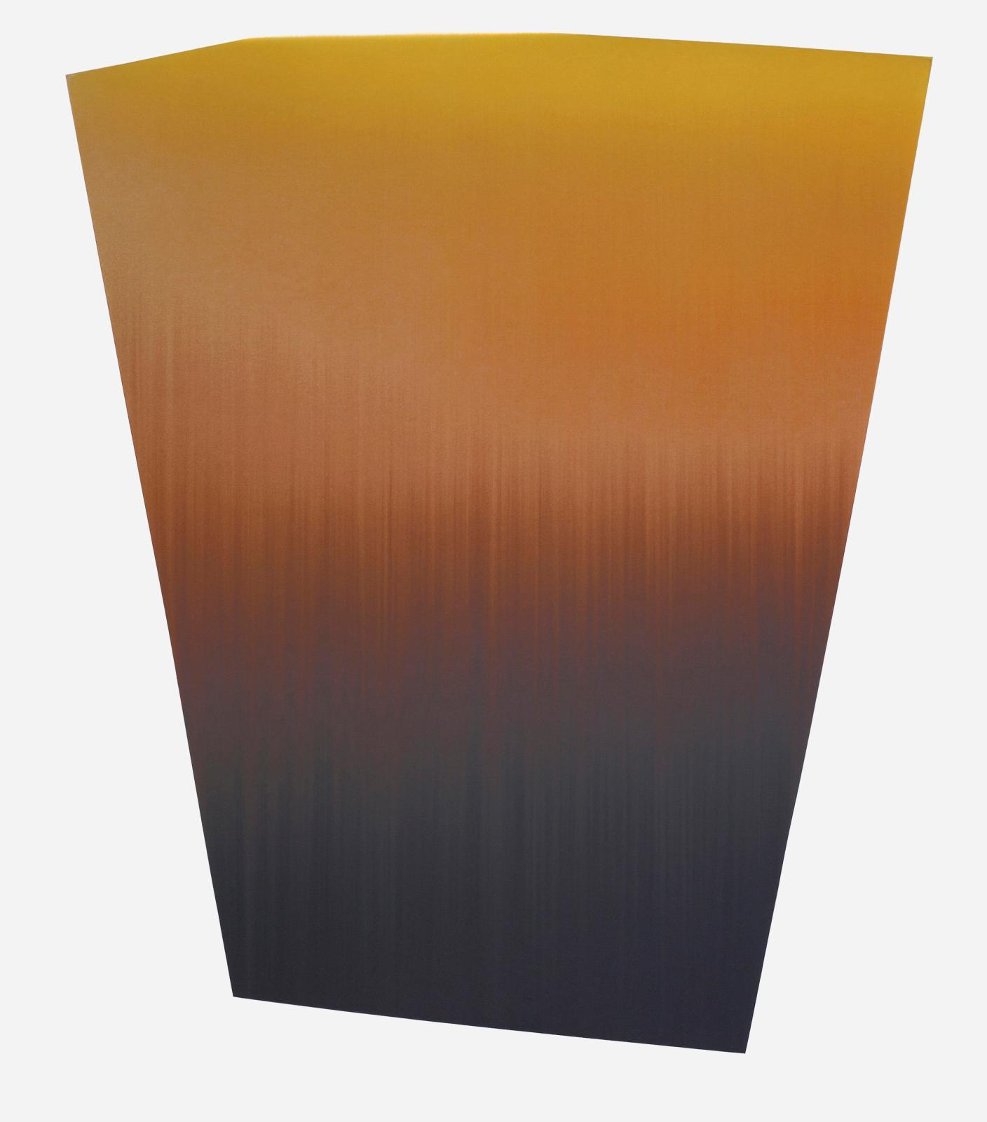 Claire Chesnier, CCLXXXVIII, 2014, encre sur papier, 147 x 132,5 cm. © collection Jacques Deret