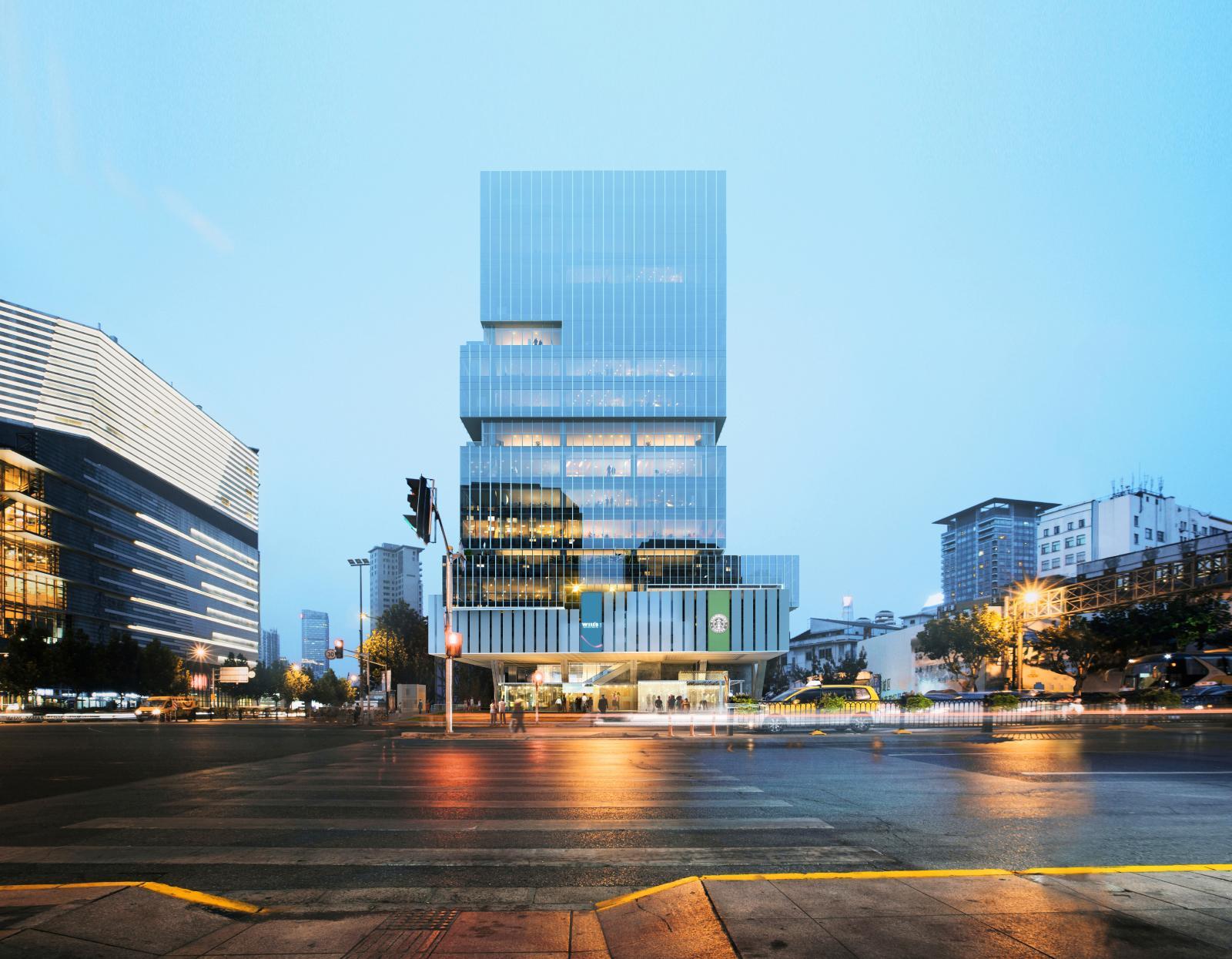 Le site du futur UCCA à Shanghai. Courtesy of K. Wah Group