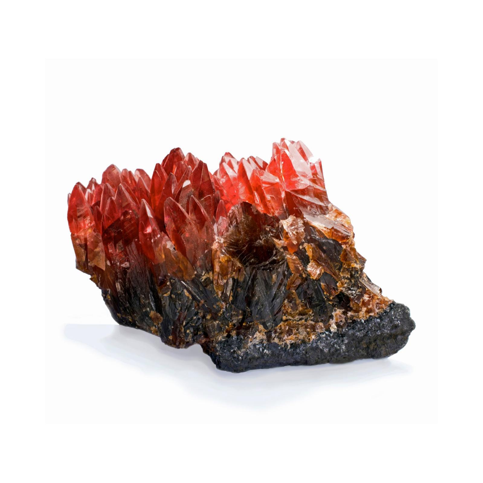 15312€ Rhodochrosite de Hotazel/N'Chwanning (mines de Kalahari, Afrique du Sud), 8x5,5x6cm. Paris, salle Rossini, 21octobre 2017.