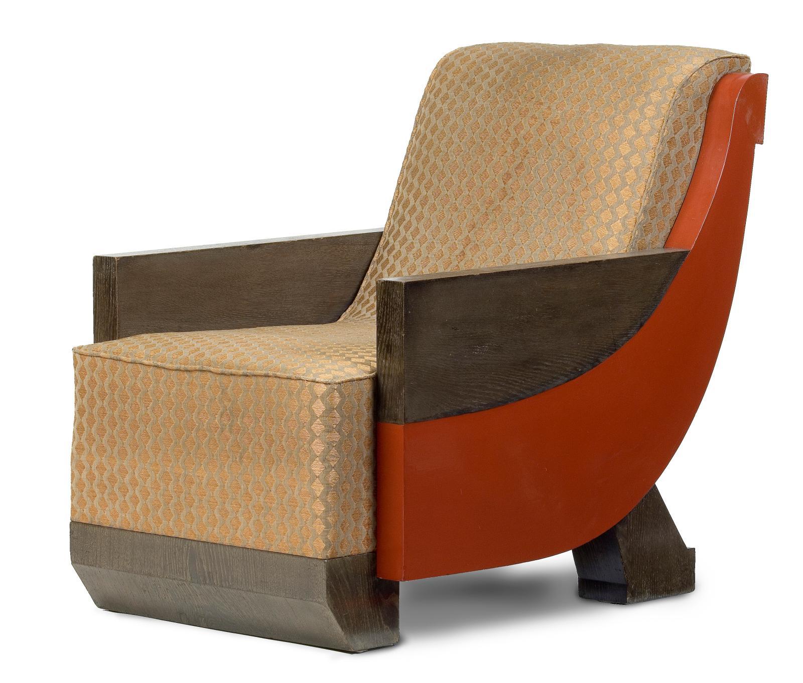 Marcel Coard, fauteuil, vers 1925-1928, Paris, musée des Arts décoratifs, don Jean-Édouard Dubrujeaud en souvenir de Jacques Doucet, 1958