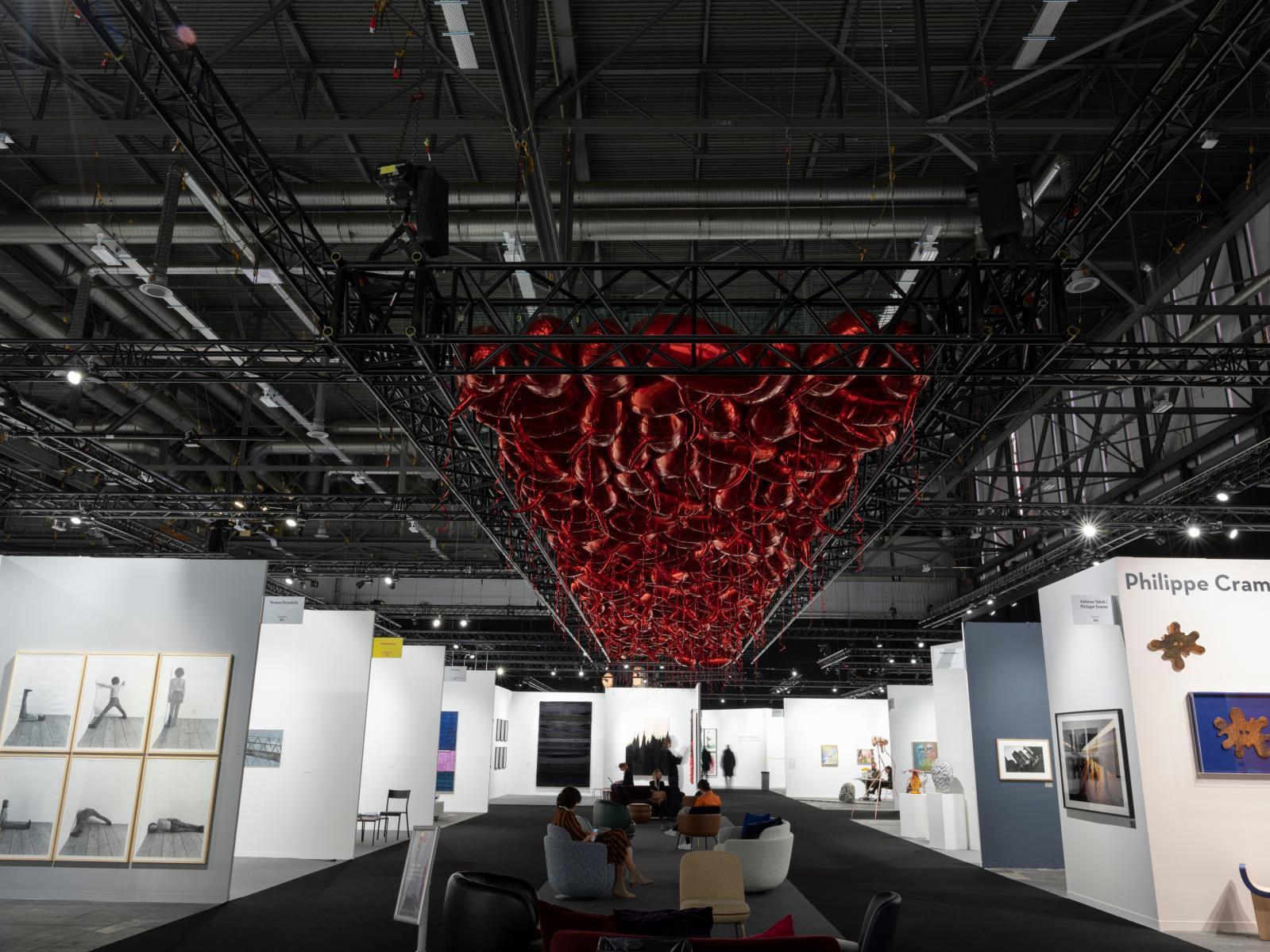 Installation by Philippe Pareno, artgene?ve 2020.Photo: Julien Gremaud