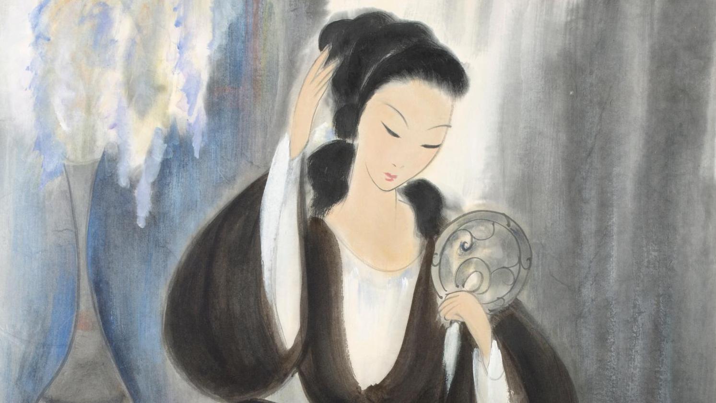 Tenue D Artiste Peintre lin fengmian : miroir, mon beau miroir…
