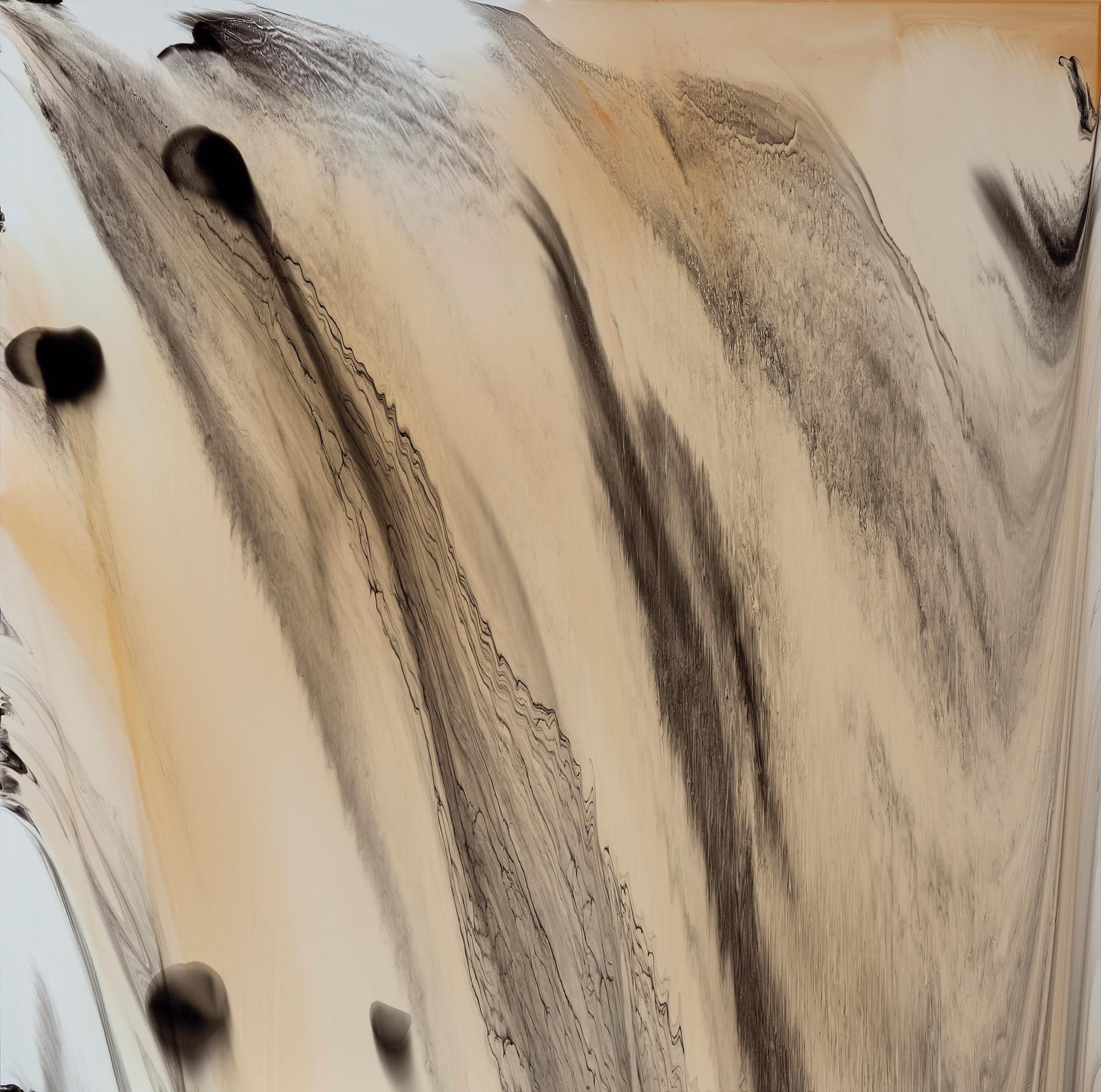 Yacout Kabbaj, TheiOSbug, 2018, peinture sur aluminium, 130x130cm (détail). COURTESY YACOUT KABBAJ
